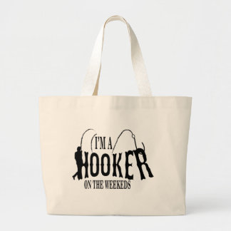 Hocker.. fisherman large tote bag