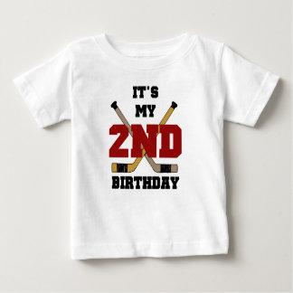 Hockey 2nd Birthday Baby T-Shirt