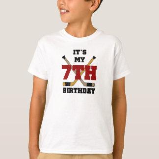 Hockey 7th Birthday T-Shirt