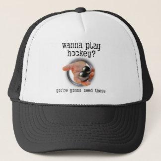 Hockey Balls Trucker Hat