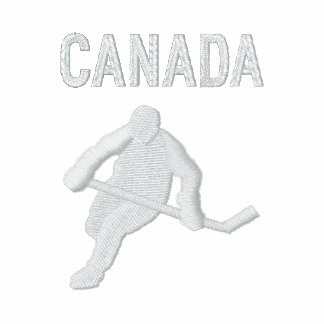 Hockey , Canada - Customizable Polo Shirt