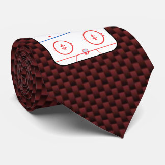 Hockey Game Companion Autograph Ready Tie