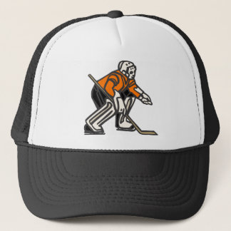 Hockey Goalie Trucker Hat
