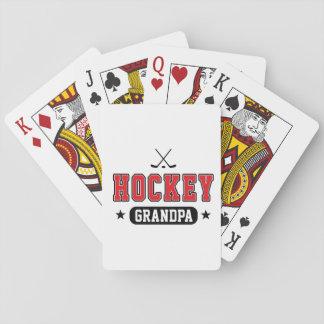 Hockey Grandpa Playing Cards