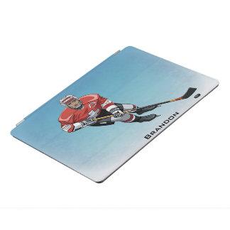 Hockey Player Design iPad Cover