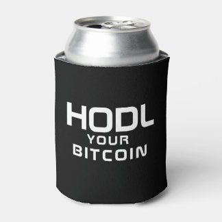HODL your bitcoin Can Cooler