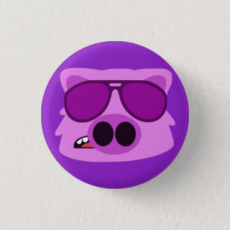 Hog Wild 3 Cm Round Badge