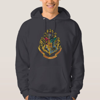 Hogwarts Four Houses Crest Hoodie