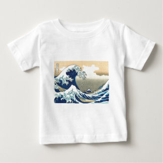 Hokusai great wave baby T-Shirt