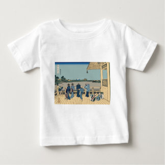 Hokusai Sazai Hall Baby T-Shirt