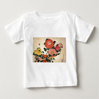 Hokusai's 'Chrysanthemum and Bee Baby T-Shirt