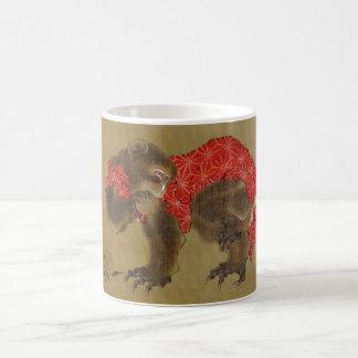 Hokusai's 'Monkey' Mug