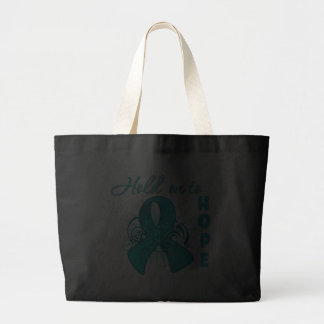 Hold On To Hope - Ovarian Cancer Tote Bag