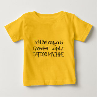 Hold the crayons tee shirts