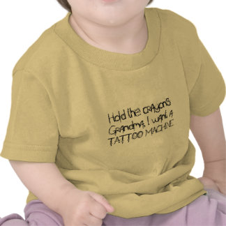 Hold the crayons tee shirt
