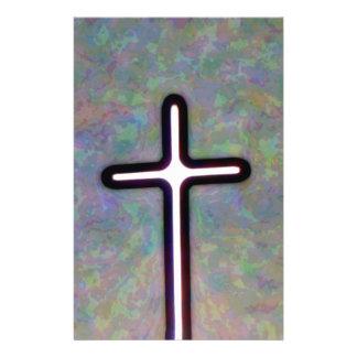 Hold the Light Inside Cross 14 Cm X 21.5 Cm Flyer