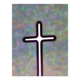 Hold the Light Inside Cross 21.5 Cm X 28 Cm Flyer