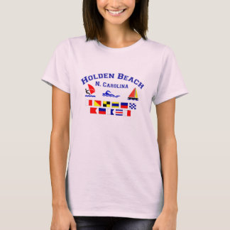 Holden Beach Nc Signal Flags T-Shirt