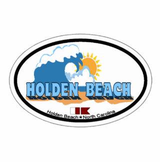 Holden Beach. Photo Sculpture Magnet
