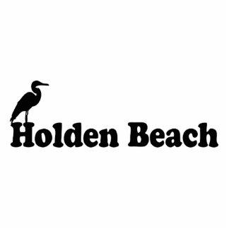 Holden Beach. Standing Photo Sculpture