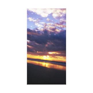 Holden Beach Sunset Canvas Print