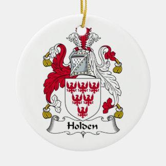 Holden Family Crest Christmas Ornament