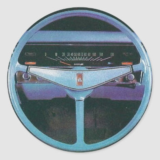 holden steering wheel round sticker