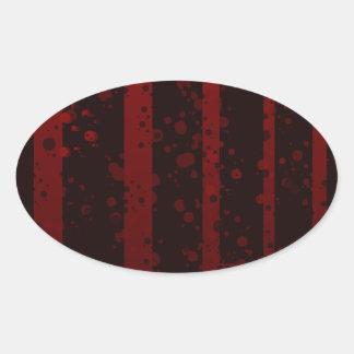 Holes Oval Sticker