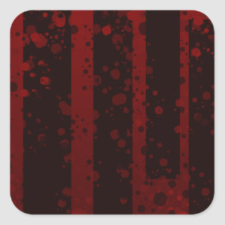 Holes Square Sticker