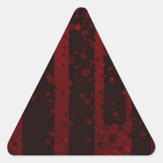 Holes Triangle Sticker
