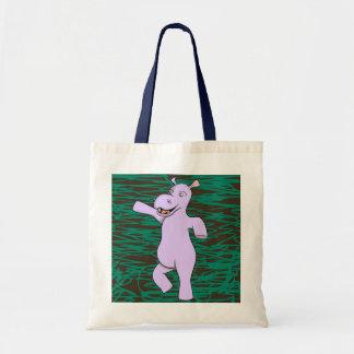 Holger Hippo Tote Bag