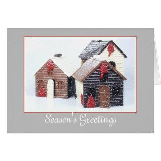 Holiday Card - Season's Greetings