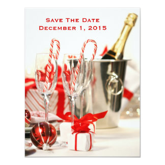 Holiday Celebration Save The Date Cards