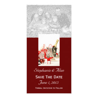 Holiday Celebration  Save The Date PhotoCards Customized Photo Card