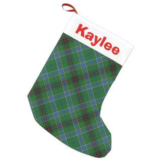 Holiday Charm Clan Duncan Tartan Small Christmas Stocking