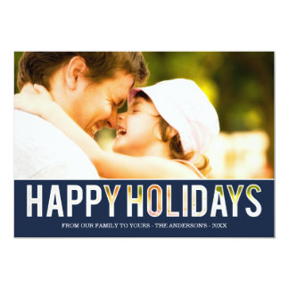 HOLIDAY CUT OUT   HOLIDAY PHOTO CARD
