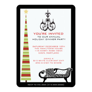 Holiday Dinner Party Invitations