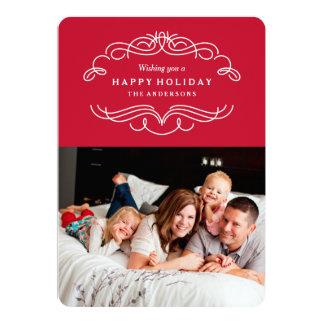 Holiday Flourish Card