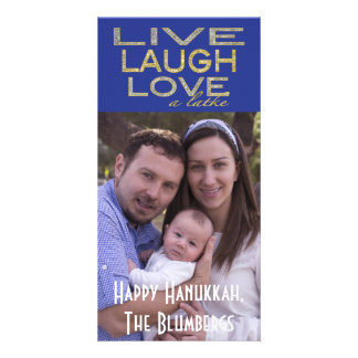 "Holiday Hanukkah Photo Card ""Love a Latke"""