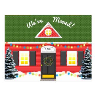 Holiday House New Address Postcard