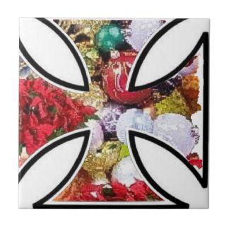 Holiday is a good season with iron cross tile
