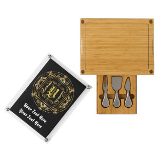 Holiday Monogram Y Read About Design Below Rectangular Cheese Board