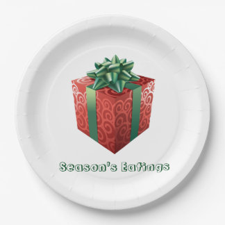 Holiday Paper Plates