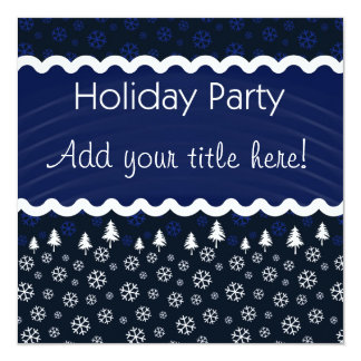 Holiday Party Invitaiton Announcement