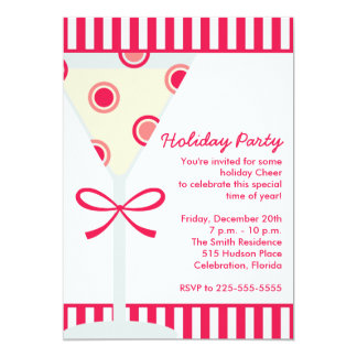 Holiday Party (Today's Best Award) 13 Cm X 18 Cm Invitation Card