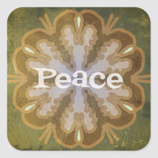 Holiday Peace Sticker