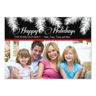 Holiday Pines Photo Card