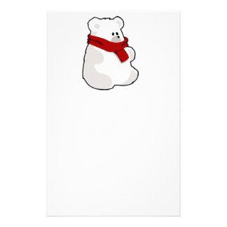 Holiday Polar Bear Stationery