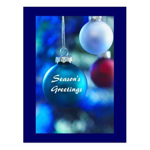 Holiday Season's Greeting-see back Post Cards