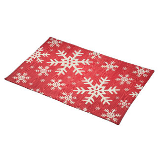 Holiday Snowflakes Placemat